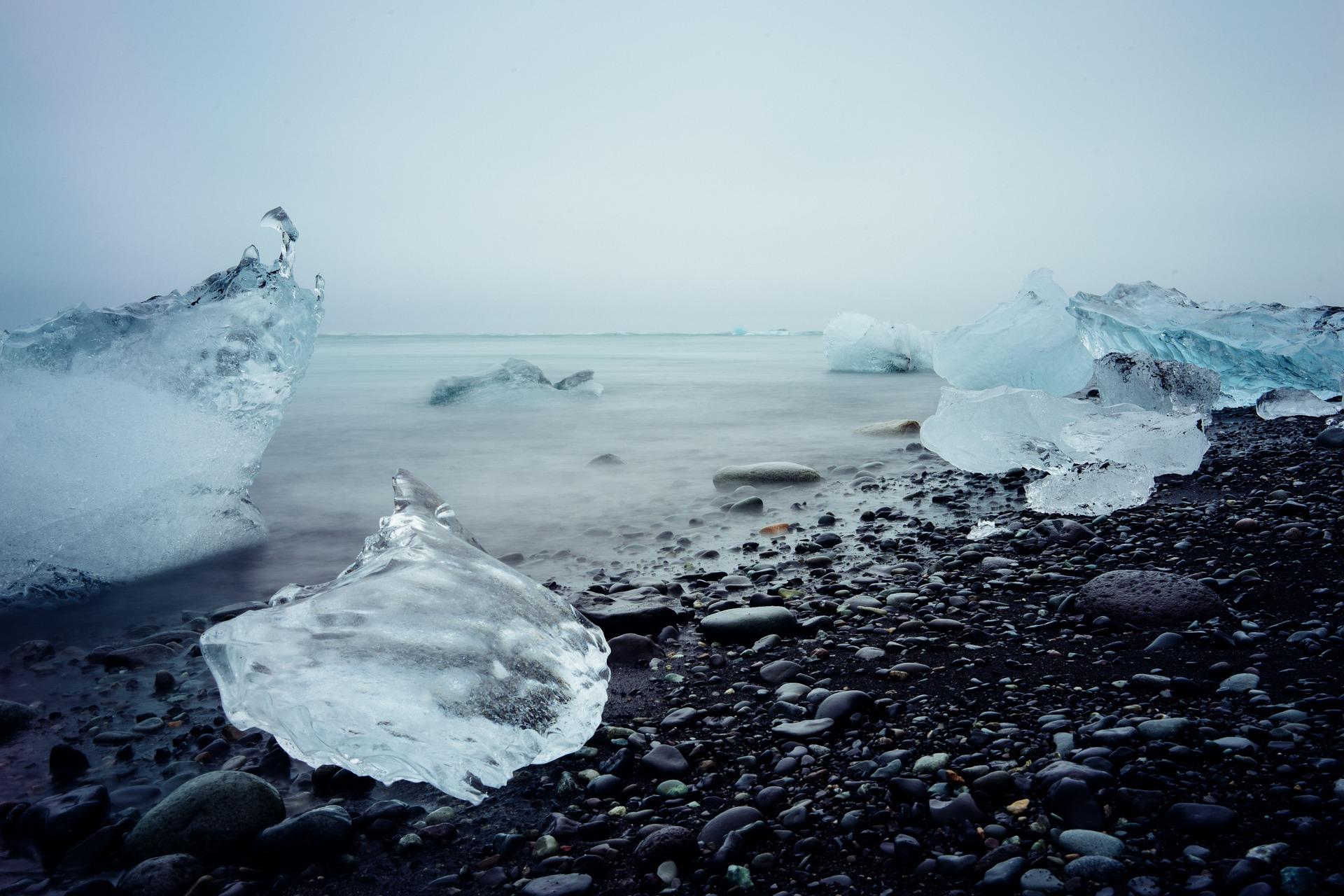 Il ghiaccio - Islanda