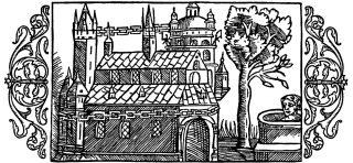 Uppsala nell'incisione di Olao Magno